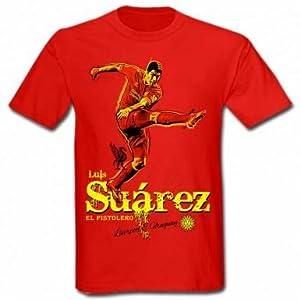Luis Suarez Liverpool & Uruguay T-Shirt from Liverpool FC