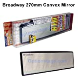 Broadway Rear View Mirror (270mm Curve)