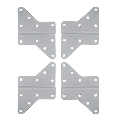 Videosecu Universal Extender Adapter Plate For Lcd Tv Wall Mount Bracket Vesa 200 And Above (Silver Color) Mles 1Uv