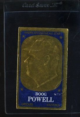 1965 TOPPS EMBOSSED #29 BOOG POWELL VG *48308