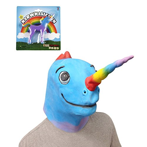 Narwhalicorn Mask (The Original) with Narwhalicorn Bendable Toy - Off the Wall Toys