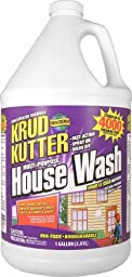 Krud Kutter HW01 Clear House Wash with Mild Odor, 1 Gallon