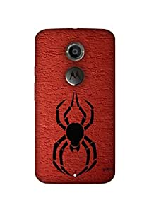 Gobzu Printed Hard Case Back Cover for Moto X2 / Moto X 2nd Generation - Design_44