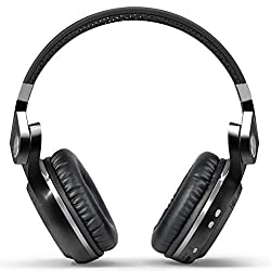Bluedio H+(Turbine) Bluetooth stereo headphone (Black)