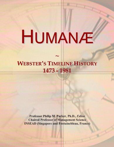 humanae-websters-timeline-history-1473-1981