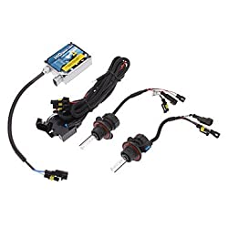 See MK- 12V 35W H13-3 High/Low Beam HID Xenon Lamp Conversion Kit Set (Thick Ballast) , 4300K Details