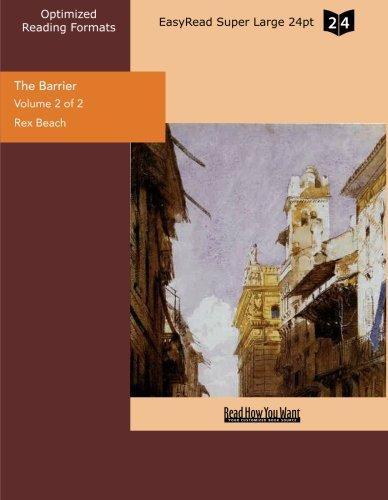 The Barrier (Volume 2 of 2) (EasyRead Super Large 24pt Edition)