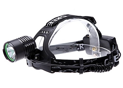 2200Lm Xml T6 Led 3 Modes Headlight Head Lamp Rotatable Headllamp With Adapter Car Charger For Camping Fishing