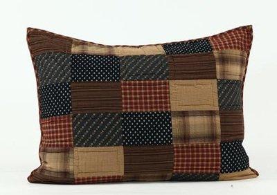 Patriotic Patch 5 Piece Queen Quilt Set