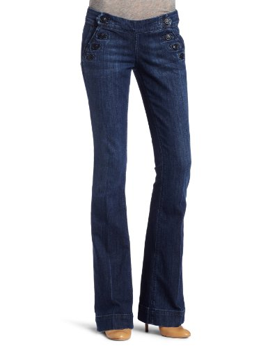 Lucky Brand Womens Sailor Sallie Jean, Pacific Blue Wash, 30