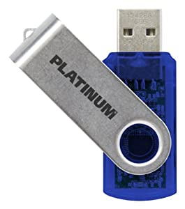 Platinum TWS 8 GB USB-Stick USB 2.0 blau