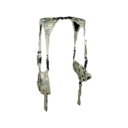 UTG Deluxe Universal Horizontal Shoulder Holster (Army Digital Camo) (Army Gun Holster compare prices)
