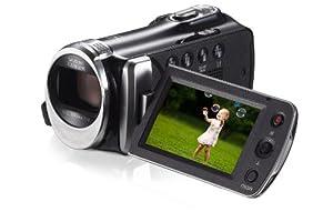 Samsung HMX-F90 Videocamera HD, Zoom Ottico 52x, Display LCD da 6.9 cm (2.7 Pollici), HD-Ready, Colore Nero
