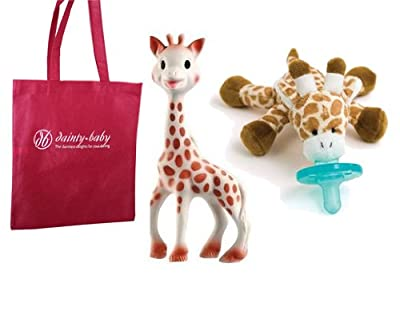 Sophie the Giraffe Baby Teether with gift bag