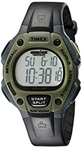 """Timex Men's T5K520 """"Ironman Traditional"""" Sport Watch with Black Resin Band"""