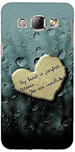 PRINTVISA Love Quotes Case Cover for Samsung Galaxy A8