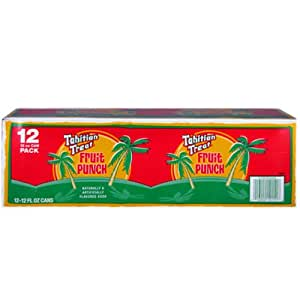 TAHITIAN TREAT SODA 2/12 pks