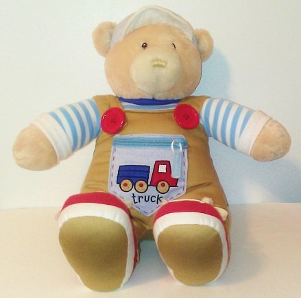 Baby Gund 16'' Teach Me To Toy Boy Bear Plush