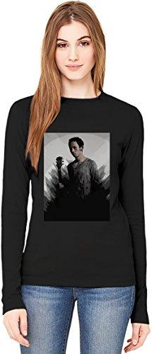 Trivium Splash T-Shirt da Donna a Maniche Lunghe Long-Sleeve T-shirt For Women| 100% Premium Cotton Ultimate Comfort X-Large