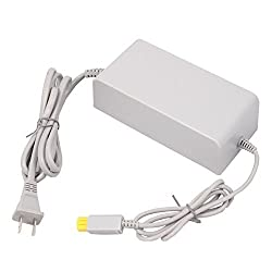 DTCH Power Supply Universal 100 - 240V AC Adapter for Wii U Console US Plug