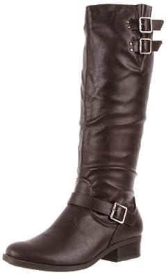 Madeline Women's Tipper Knee-High Boot,Dark Brown,6.5 M US
