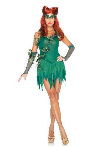 poison ivy halloween costume for adults, kids