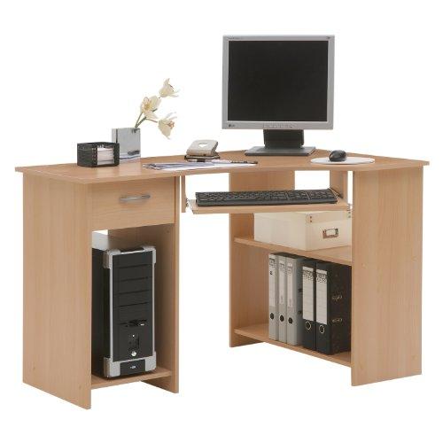 FMD Computer Desk Felix 1, 118.0 x 76.0 x 77.0 cm, Beech