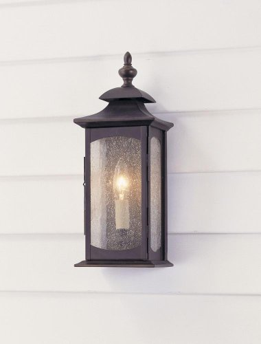 Murray Feiss Mf Ol2600 1 Light Outdoor Wall Sconce From The Market Square Collec, Oil Rubbed Bronze