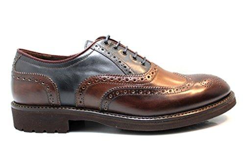 Nero Giardini A604401U Porcino Stringate Scarpe Uomo Casual Stile Inglese