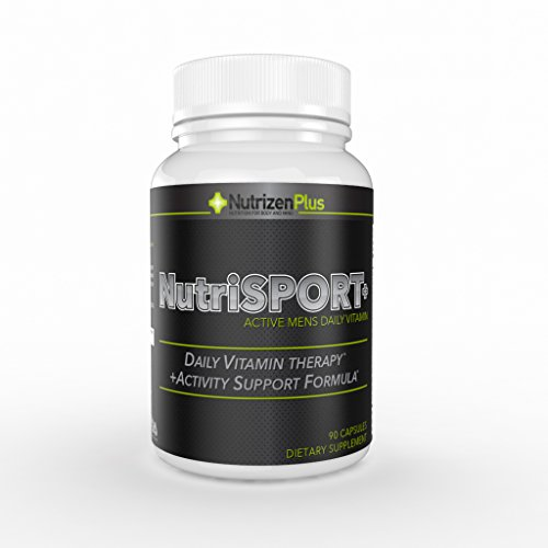 #1 Mens Advanced Daily Multivitamin... 90 Day Supply... Pro-B Complex Increases, Energy, Endurance, and Focus. Advanced Formula Supports Muscle Recovery and Prostate Health. 50mg of L-arginine - Amino Acid Supports Immune Function, Blood Flow and Muscle Recovery. 100% Money Back Guarantee.