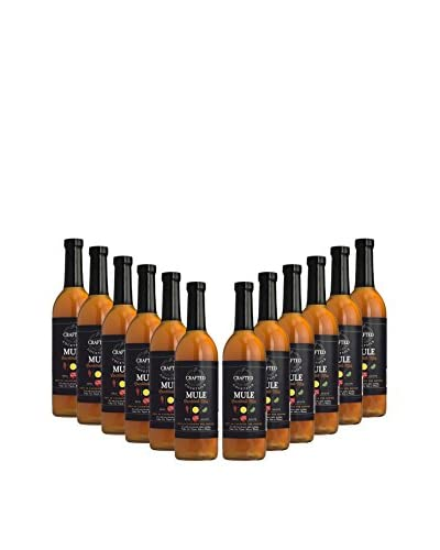 Crafted Cocktails 12-Pack Mule All Natural Low Calorie Cocktail Mix