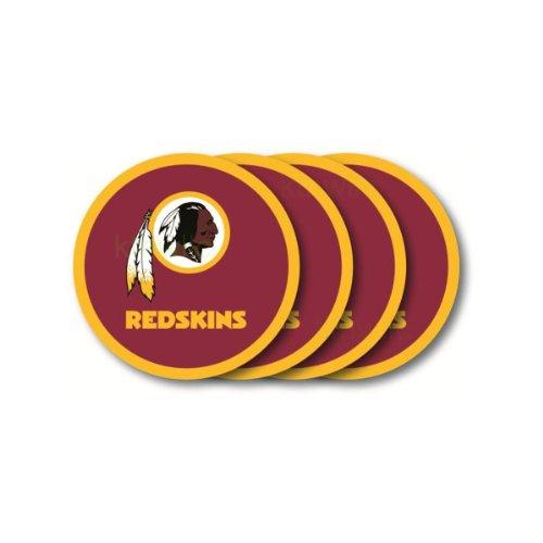 Washington Redskins Coaster Set - 4 Pack at Steeler Mania