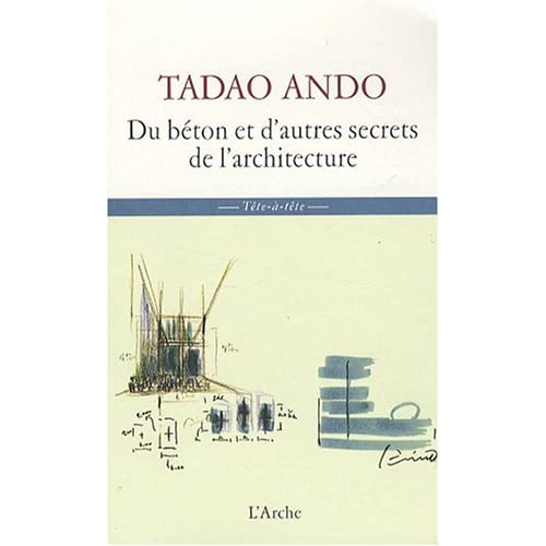 de larchitecture (French Edition) (9782851816474) Tadao Ando Books
