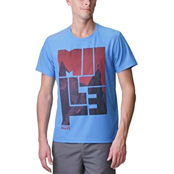 Millet Adventure Ts Ss T-shirt homme True Blue XL