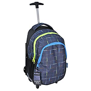 Paso Children's Boys Girls Travel School Wheeled Backpack by Paso