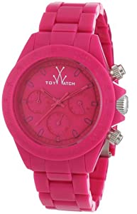 ToyWatch Unisex-Armbanduhr Chronograph verschiedene Materialien MO10PS