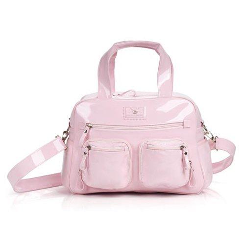 Pink Patent Pram Bag (37X27X17CM)