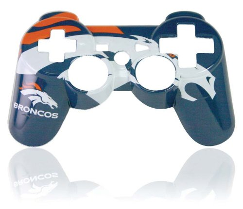 PS3 Official NFL Denver Broncos Controller Faceplate