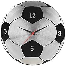 Cosmosgalaxy Football Steel Wall Clock