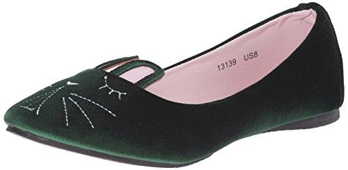 TUK Shoes, Ballerine donna Verde Verde - verde EU37 / UKW4