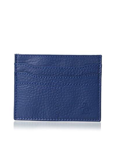 Original Penguin Men's Leather Business Card Wallet, True Blue