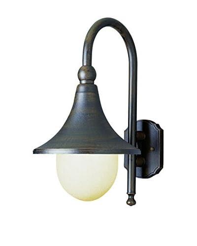 Bel Air Lighting 1-Light Coach Lantern, Rust