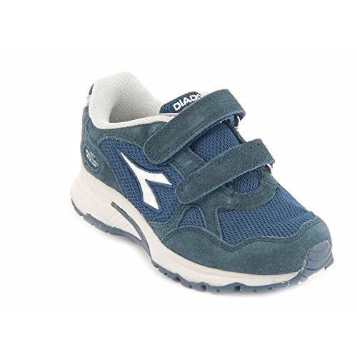 Naturino 1162 grigio-sky, Scarpe primi passi bambine Blu blu, Blu (blu), 21