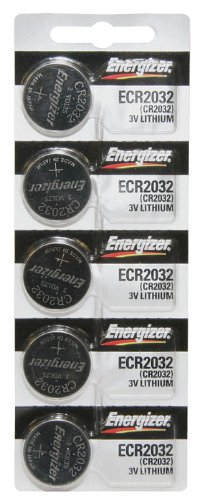 CR2032 Energizer Lithium Batteries (1 pack of 5)