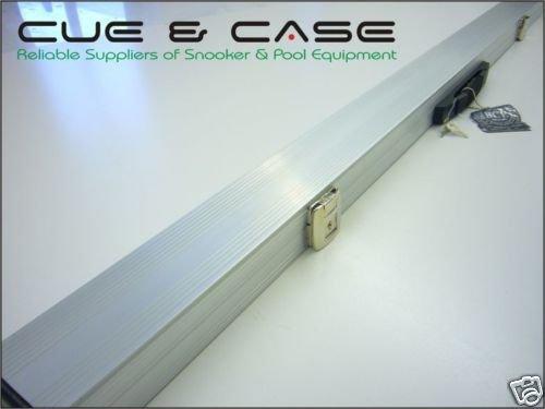 BCE Jimmy White Lockable Aluminium 3/4 Snooker Cue Case