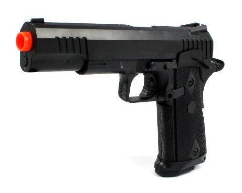 Marine Corp Electric Blowback Airsoft Pistol Semi Auto Fps-180 Aep Automatic Electric Gun W/ Hop Up