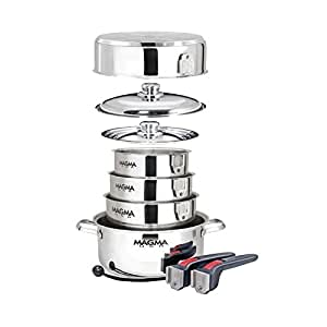 Magma 10 Piece Stainless Steel Induction Cook-Top