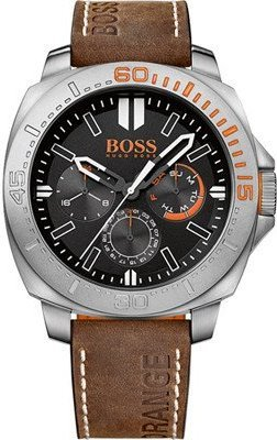 Hugo Boss Orange Sao Paulo Leather Mens Watch 1513297
