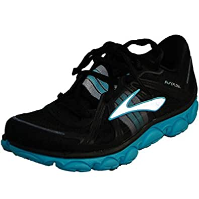 Brooks Womens PureFlow Running Shoes Color: AngelBlu/Slvr/Blk Size: 10.5