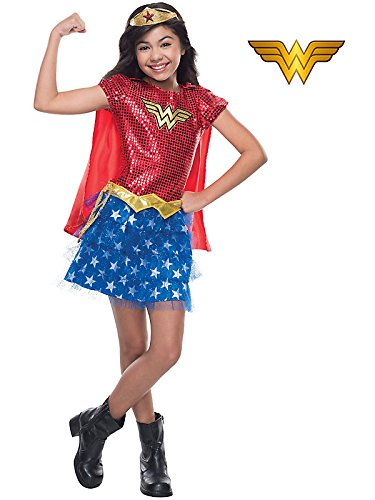 Rubie's Costume DC Superheroes Wonder Woman Sequin Child Costume